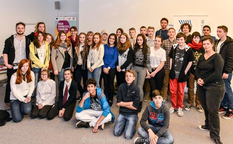 2014-11-17 Klasse 9b Projekt Bewerbung